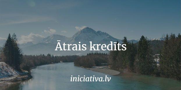 Ātrais kredīts