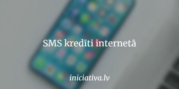 SMS kredīti internetā